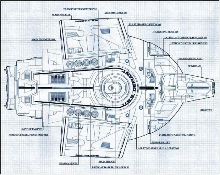 Defiant Bauplan von Oben on runabout schematics, uss reliant schematics, deep space nine schematics, uss titan schematics, uss diligent, millennium falcon schematics, uss equinox, uss voyager, star trek ship schematics, uss excalibur, uss reliant deck plans, uss yamaguchi, uss lst schematic, uss vengeance star trek, uss valiant schematics, uss prometheus, uss enterprise, space station schematics, uss excelsior, delta flyer schematics,
